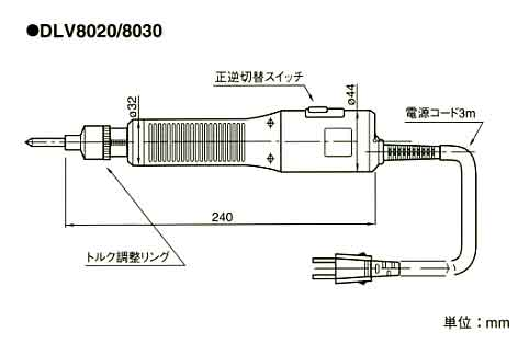 DLV8000外寸
