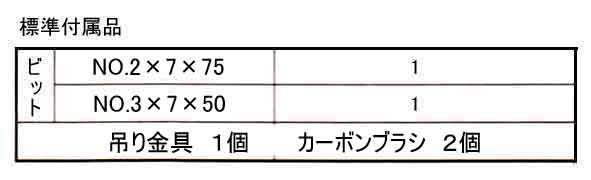 DLV8150付属品